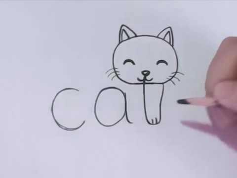 صورة كيفية رسم الحيوانات بطريقة سهلة , رسم الحيوانات خطوة بخطوة