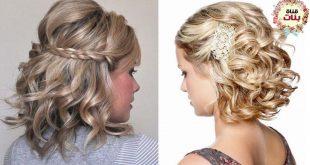 افضل تسريحات الشعر القصير , صور احدث التسريحات للشعر القصير