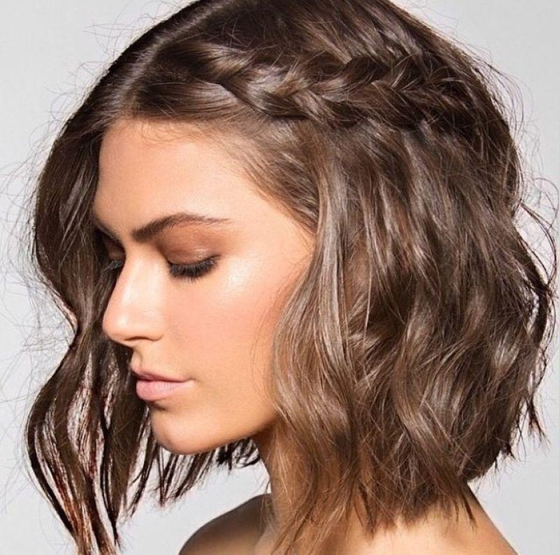 صورة افضل تسريحات الشعر القصير , صور احدث التسريحات للشعر القصير 2131 5