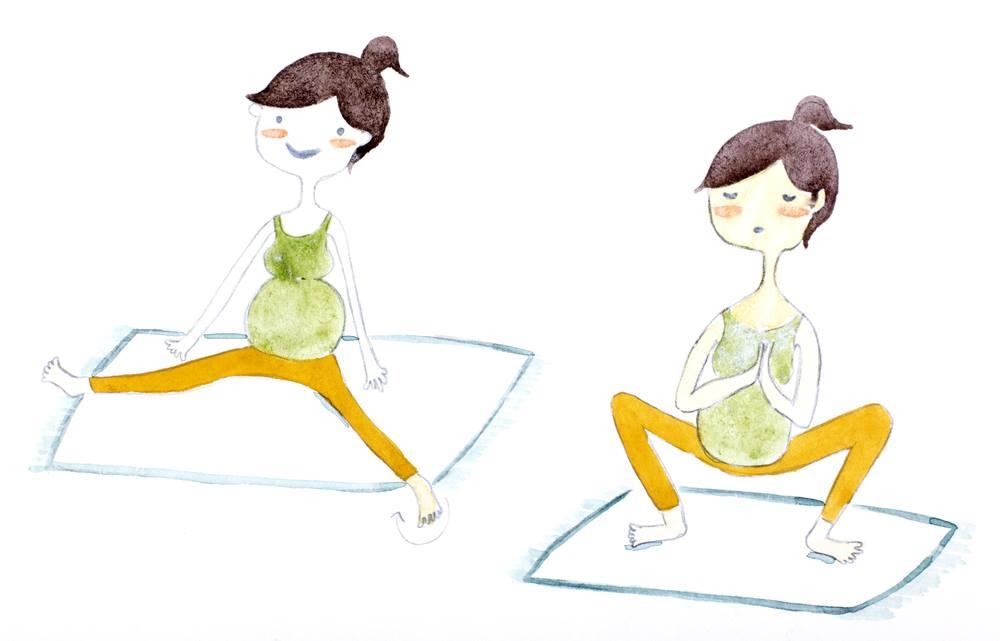 صورة فوائد الرياضة للحامل , اهمية الرياضة اثناء الحمل
