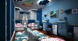 صورة ديكور غرف نوم اولاد , افكار لفرش غرفة للصبى