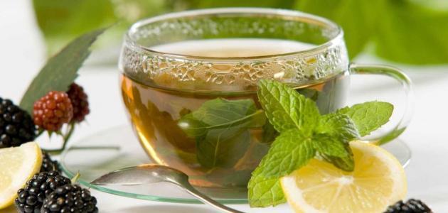 صور طريقة عمل الشاي الاخضر , سحر الشاي الاخضر للريجيم