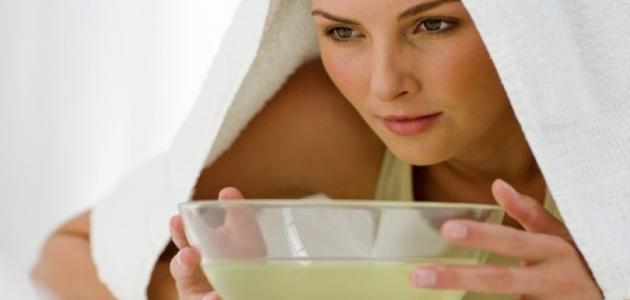 صور طريقة تنظيف الوجه بالبخار في البيت , احلي طريقه تنظفي بها وجهك في البيت