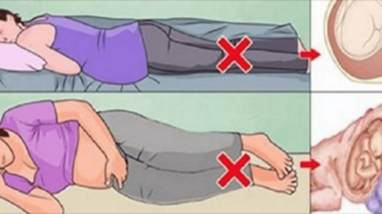 وضعية النوم للحامل كيفية النوم الهادىء والمريح للام الحامل مشاعر اشتياق