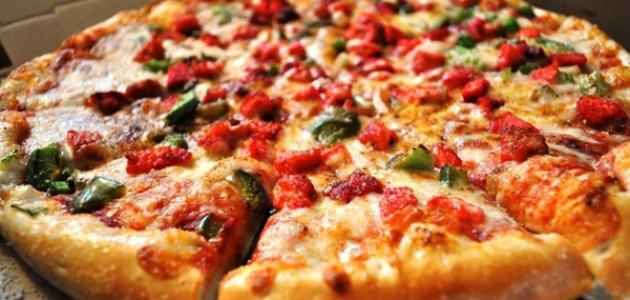 صورة كيفية تحضير البيتزا سهلة , اروع وصفه بيتزا تاكليها بحياتك