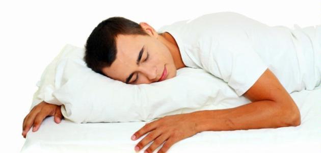 صورة اضرار نوم على البطن , عاده نهى عنها سيد الخلق تعرف على اضرارها