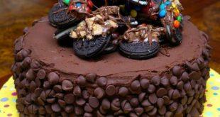 صورة تورتة شيكولاتة عيد ميلاد , عيد ميلادى لا يكتمل بدون الشوكلات