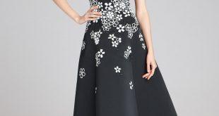 صورة فساتين سهرة بسيطة , صيحات فستان السهرة