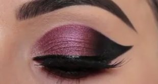 صورة اجمل مكياج عيون خليجي , عين خليجية تهبل