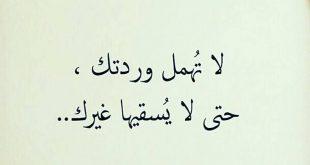 صورة من اجمل خواطر العتاب , عتاب اللئيم لوم عليك