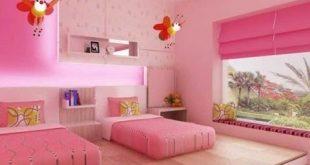 صورة اجمل غرف بنات , غرف النوم جميلة لبنتك