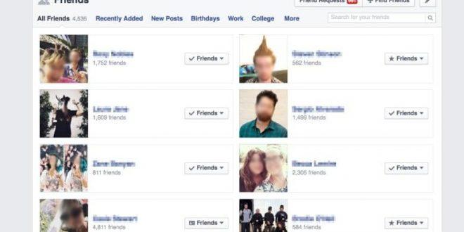 صورة اخفاء الاصدقاء من على الفيس , الفيس وسيلة لمعرفة حالتك