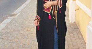 صورة عبايات كاجول للمحجبات , كوني متالقة وشيك بحجابك