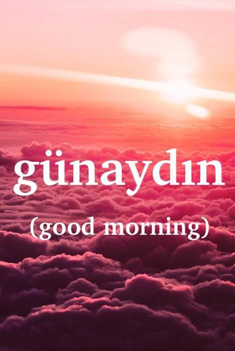 صورة صباح الخير بالتركي , تعلم ابسط الكلمات التركية