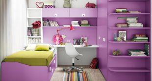 صورة حيل لا تخطر علي بالك لاستغلال كل شبر في الغرفة الصغيرة,غرف نوم مودرن صغيره