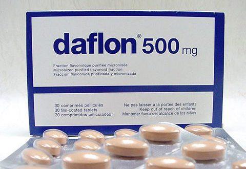 صورة حبوب دافلون 500 , علاج مذهل للبواسير خاصه واى نزيف دموى