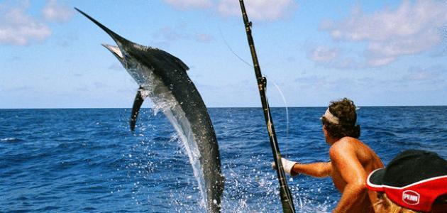 صورة كيفية صيد السمك , افكار لصيد اسماك كبيرة