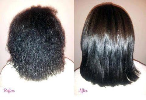 صورة طرق تنعيم الشعر , اعتني بشعرك ديما