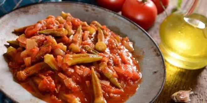صورة طريقة عمل البامية , سامية تطبخ البامية