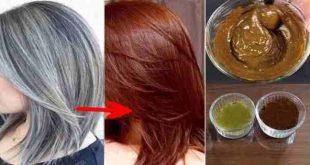 وصفات طبيعية لصبغ الشعر , من اجلك وصفة طبيعية لصبغة شعرك