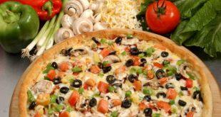 صورة طريقة عمل بيتزا الخضار , البيتزا الخضار المصري