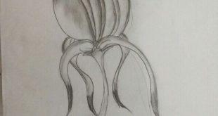 صورة رسم زهرة اللوتس , اتعلم طريقة رسم ارقي الزهور