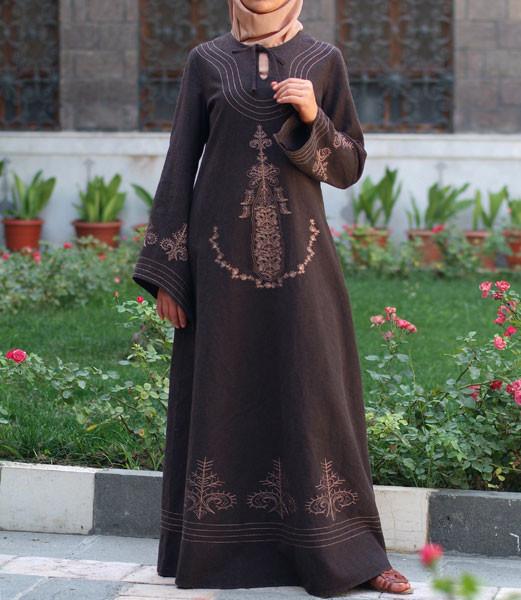 صورة جلباب اسلامي تركي , ارتدي اجمل جلباب تركي وتالقي به