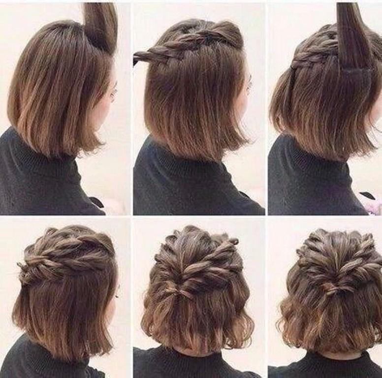 صورة صور تسريحات الشعر القصير , جددي من شكل شعرك القصير باستمرار 3815 2