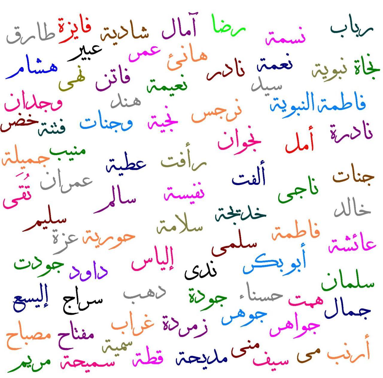 صورة جميع اسماء البنات , اختاري لبنوتك اسم بنت رقيق