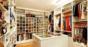 صورة غرف ملابس مودرن , لا تقلق من المساحه فروعه التصميم تناسب كل المساحات
