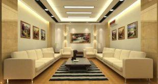 صورة ديكورات اسقف جبسيه , اشيك تصميمات الجبس بورد بالصور