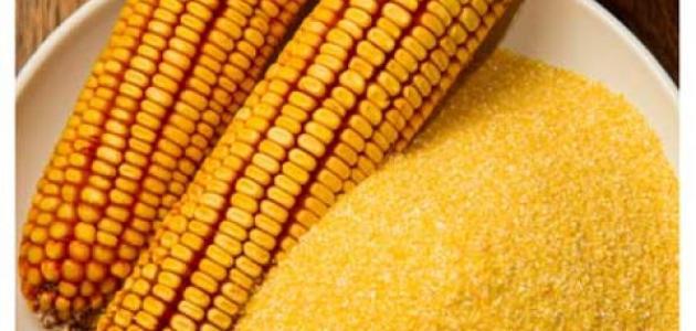 صورة ما هو دقيق الذرة , لن تتخيل مايصنع منه واكثر مبيعا