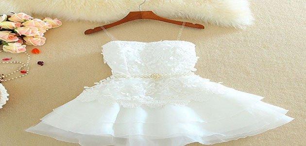 صورة تفسير حلم الفستان , الزواج والامان وحياه جديده بيضاء