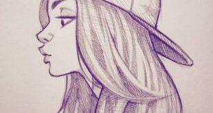 رسومات بسيطة وسهلة رسومات سهله وبسيطه بالقلم الرصاص مشاعر اشتياق