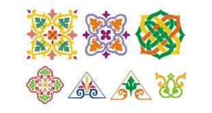 صورة زخارف اسلامية نباتية , مكونات الزخارف الاسلامية وشكلها
