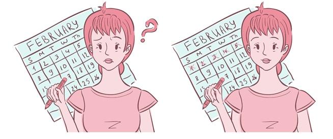 صورة اسباب تاخر الدورة الشهرية عن موعدها مع عدم وجود حمل , اسباب خفيه مهمه