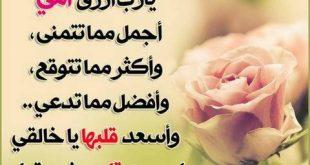 صورة كلام جميل لعيد الام , منبع الحنان والامان والدنيا للانسان