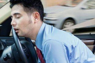 صورة النوم في السيارة , ايه سر النوم فى السيارة وهى ماشية
