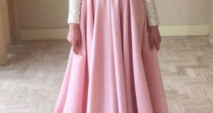 صورة تعلمي اختيار فستان السهرة المناسبة لكي سيدتي ,اجمل فساتين سهرة طويلة