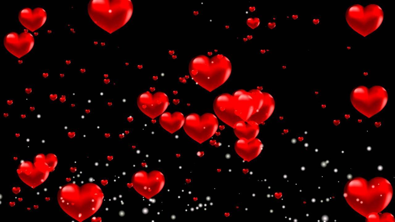 صورة خلفيات قلوب حمراء تجنن,اجمل قلوب حمراء
