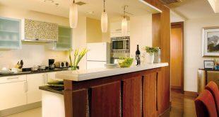 صورة امتي اختار المطبخ المفتوح في شقتي ,ديكور مطبخ مفتوح