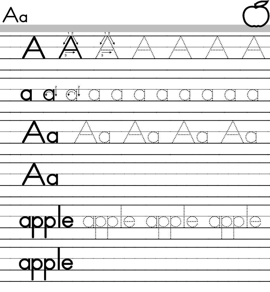 صورة علمي ابنك الكتابة بهذه الطرق السهلة والبسيطة ,اوراق عمل لتحسين الخط للاطفال 6361