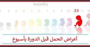 صورة اعراض الحمل المبكرة قبل الدورة باسبوع ، كيفيه معرفه الحمل قبل ميعاد الدوره 360 3 310x165
